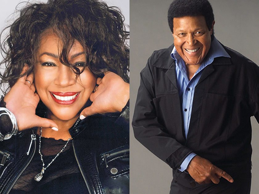 Interesting. Chubby checker and the wildcats remarkable, rather