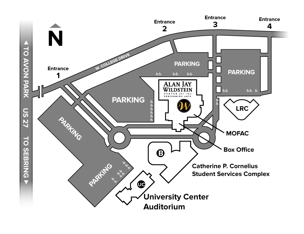 St Catherine University Campus Map.Directions And Parking Sfsc Performing Arts